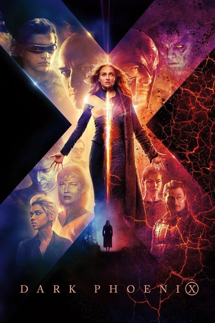 """Poster for the movie """"X-Men: Ο Μαύρος Φοίνικας"""""""