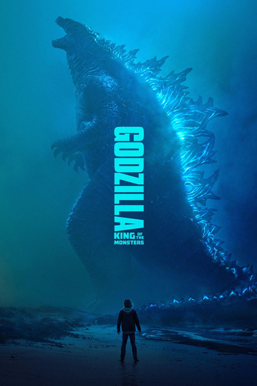 "Poster for the movie ""Γκοτζίλα ΙΙ: Ο Βασιλιάς Των Τεράτων"""