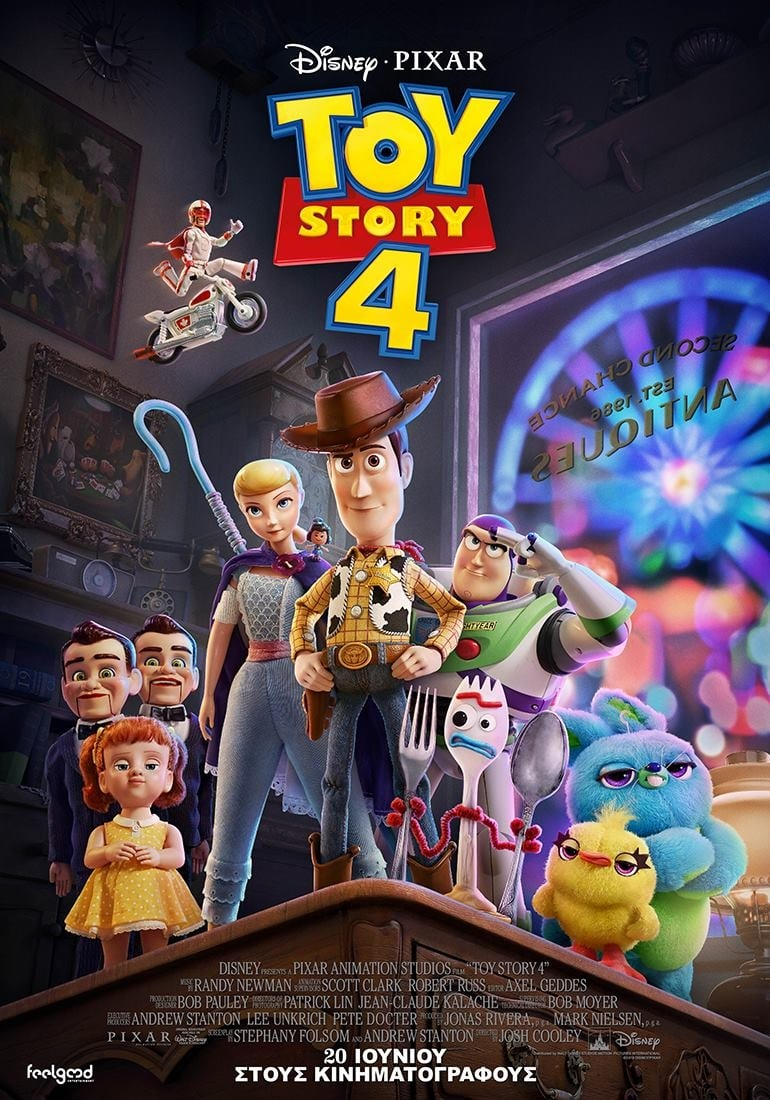 "Poster for the movie ""Toy Story 4"""