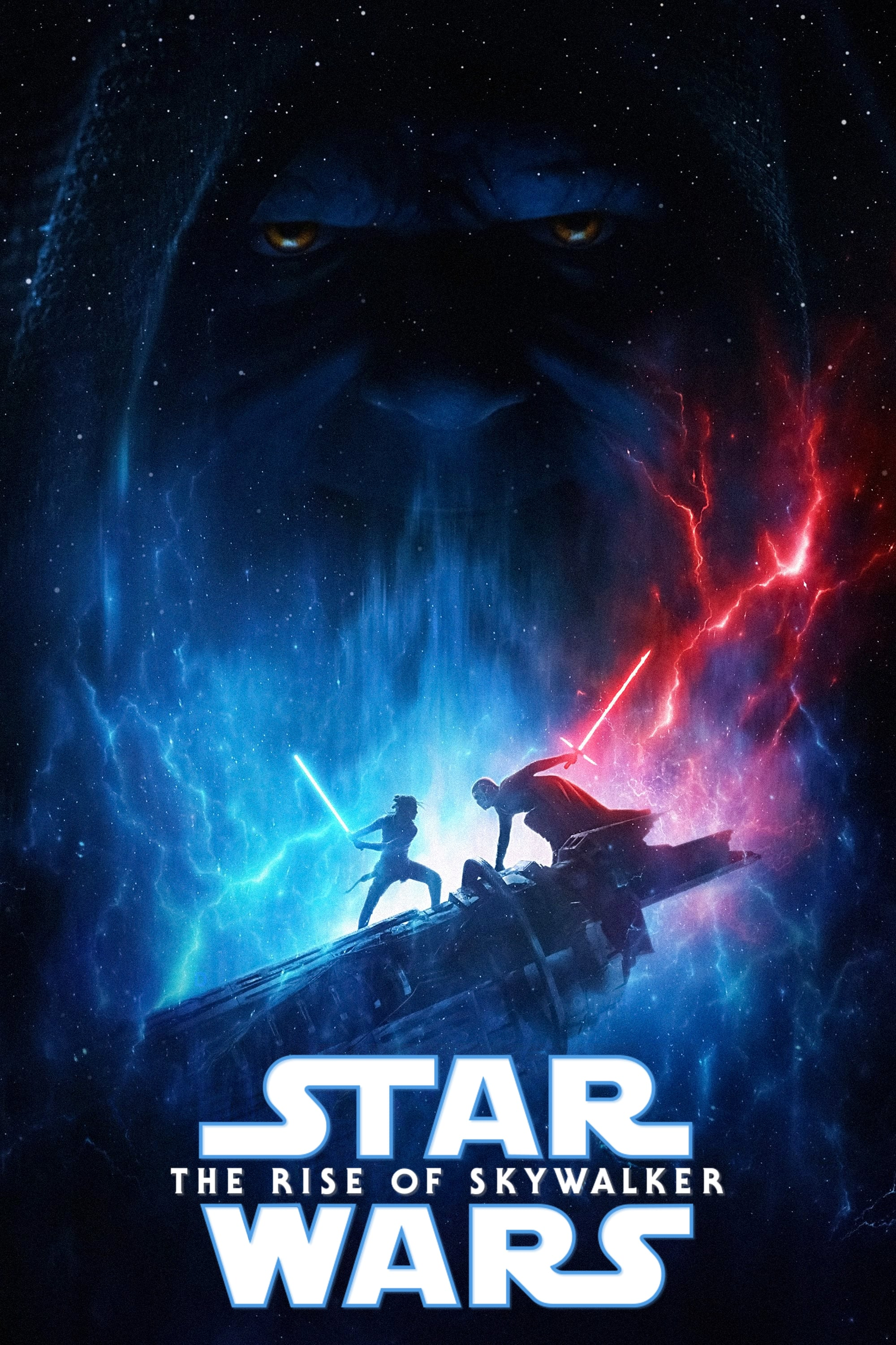 "Poster for the movie ""Star Wars: Επεισόδιο IX - Skywalker: Η Άνοδος"""