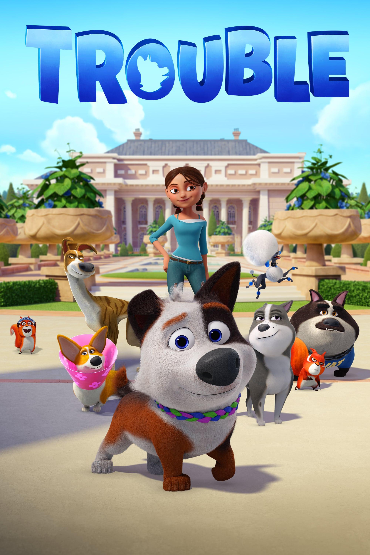 """Poster for the movie """"Σκυλομπελάς"""""""