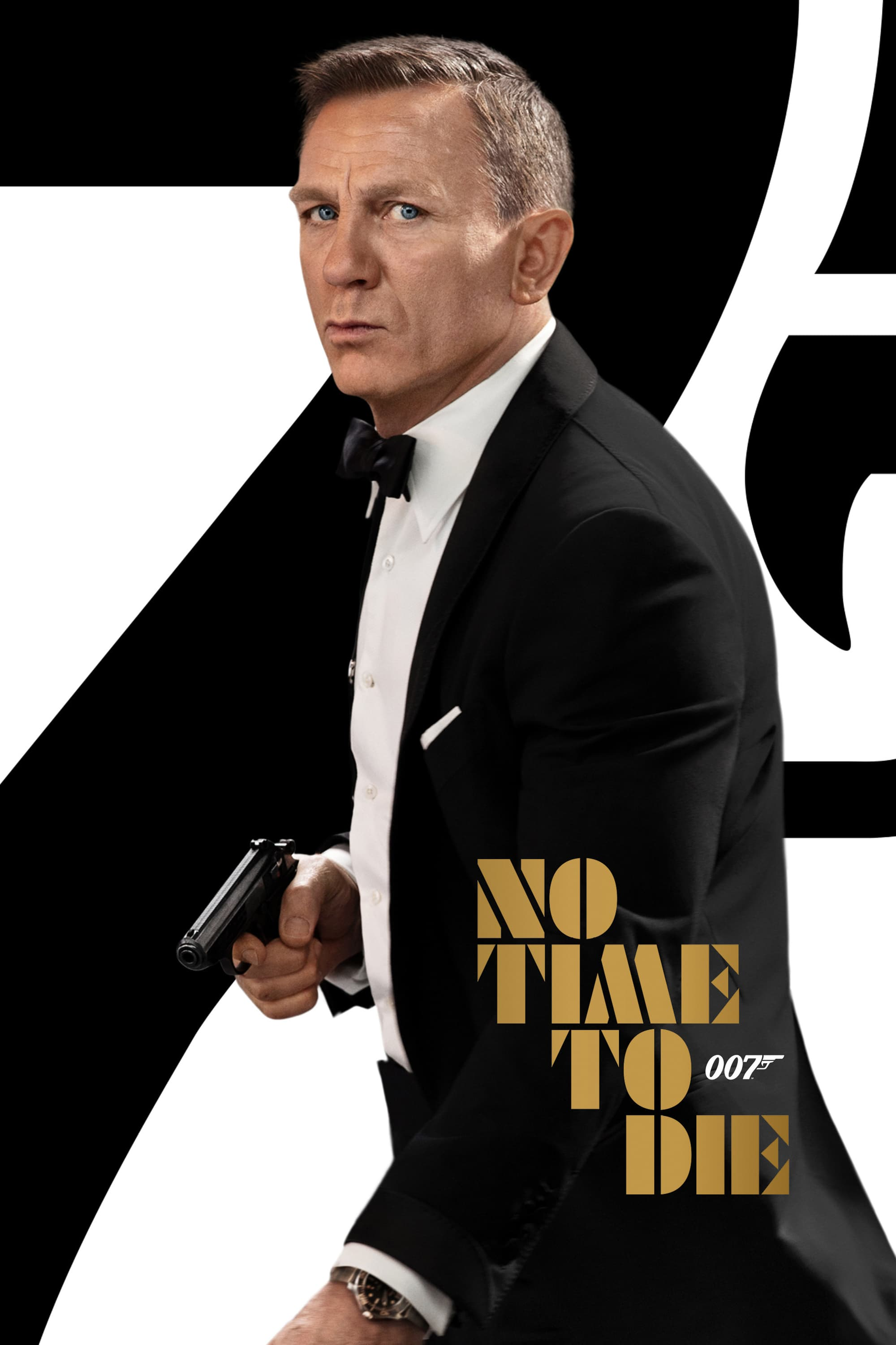 """Poster for the movie """"Τζέιμς Μποντ, Πράκτωρ 007: No Time To Die"""""""