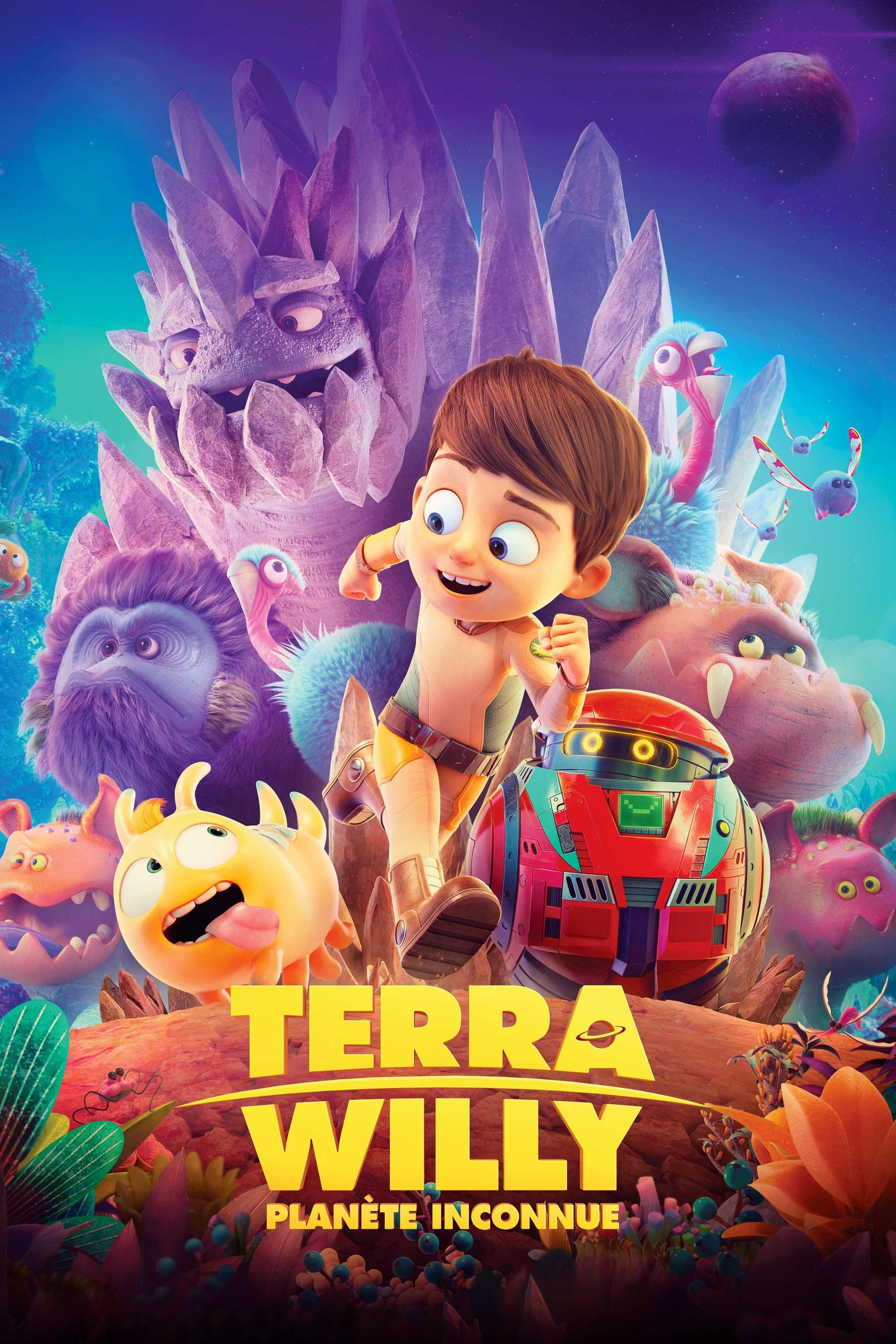 "Poster for the movie ""Terra Willy, planète inconnue"""