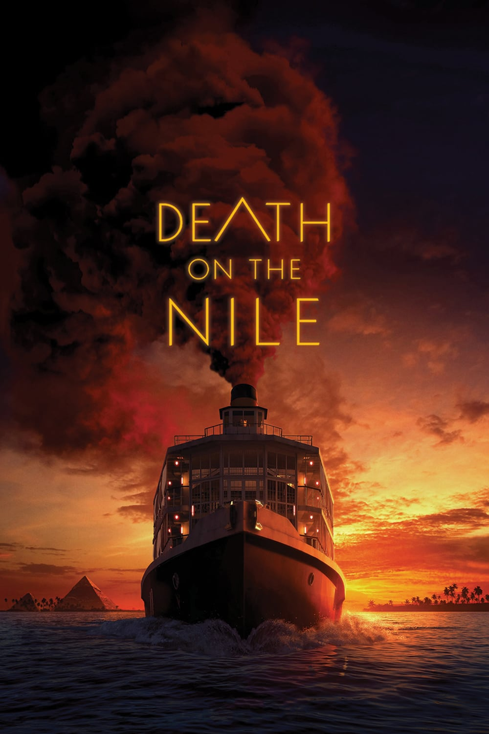 "Poster for the movie ""Death on the Nile"""
