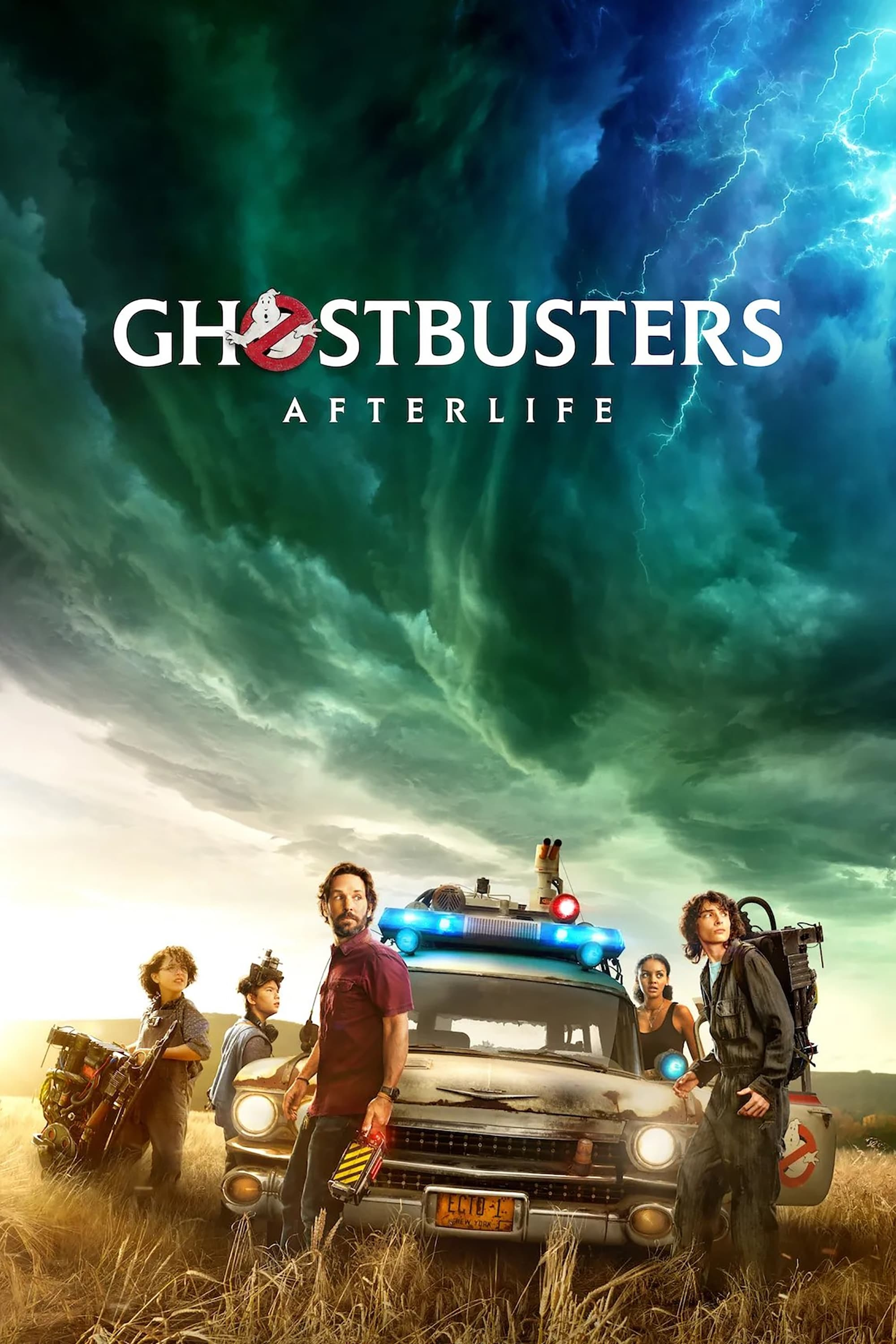 """Poster for the movie """"Ghostbusters: Afterlife"""""""